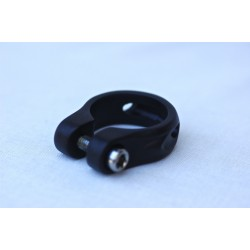 Collier Route en 31,8mm noir