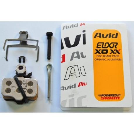 Plaquettes de freins Avid Elixir XO/XX Organic/Aluminium