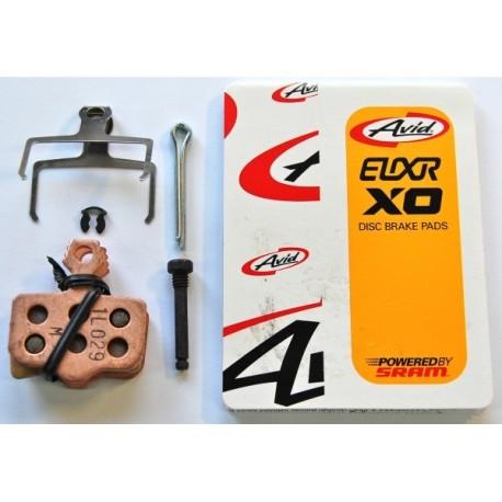 Plaquettes de freins Level Avid Elixir XO Métal SRAM